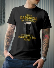 Hello darkness my old friend YL Classic T-Shirt lifestyle-mens-crewneck-front-6