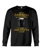 Hello darkness my old friend YL Crewneck Sweatshirt thumbnail