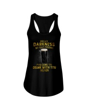 Hello darkness my old friend YL Ladies Flowy Tank thumbnail