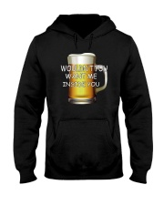 WOULDN'T YOU WANT ME INSIDE YOU Hooded Sweatshirt thumbnail
