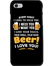 BEER I LOVE YOU Phone Case thumbnail