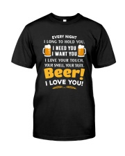 BEER I LOVE YOU Classic T-Shirt front