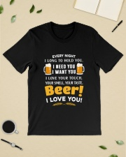 BEER I LOVE YOU Classic T-Shirt lifestyle-mens-crewneck-front-19