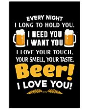 BEER I LOVE YOU 11x17 Poster thumbnail