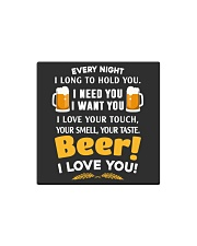 BEER I LOVE YOU Square Magnet thumbnail