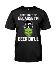 I'm Beer'diful Classic T-Shirt front