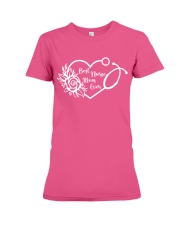 Best Nurse Mom Ever Shirt - Great Gift For Mom Premium Fit Ladies Tee front