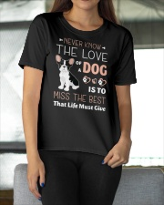 Never know the love Ladies T-Shirt apparel-ladies-t-shirt-lifestyle-front-11
