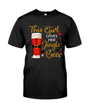 This girl loves her jingle beer Classic T-Shirt thumbnail