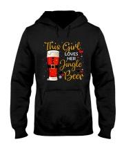 This girl loves her jingle beer Hooded Sweatshirt thumbnail