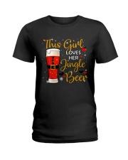 This girl loves her jingle beer Ladies T-Shirt thumbnail