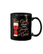 This girl loves her jingle beer Mug thumbnail