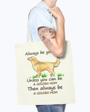 Unless You Can Be A Golden Mom Bag Tote Bag accessories-tote-bag-BE007-front-model-02