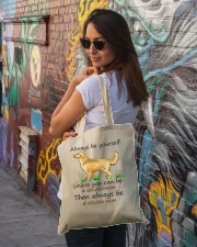Unless You Can Be A Golden Mom Bag Tote Bag lifestyle-totebag-front-1