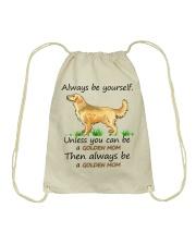 Unless You Can Be A Golden Mom Bag Drawstring Bag thumbnail