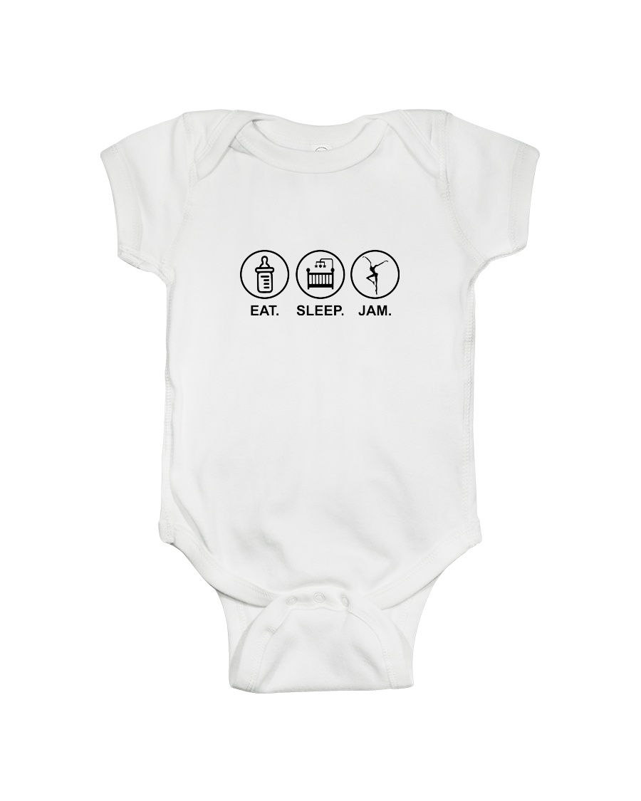 Eat sleep jam Onesie