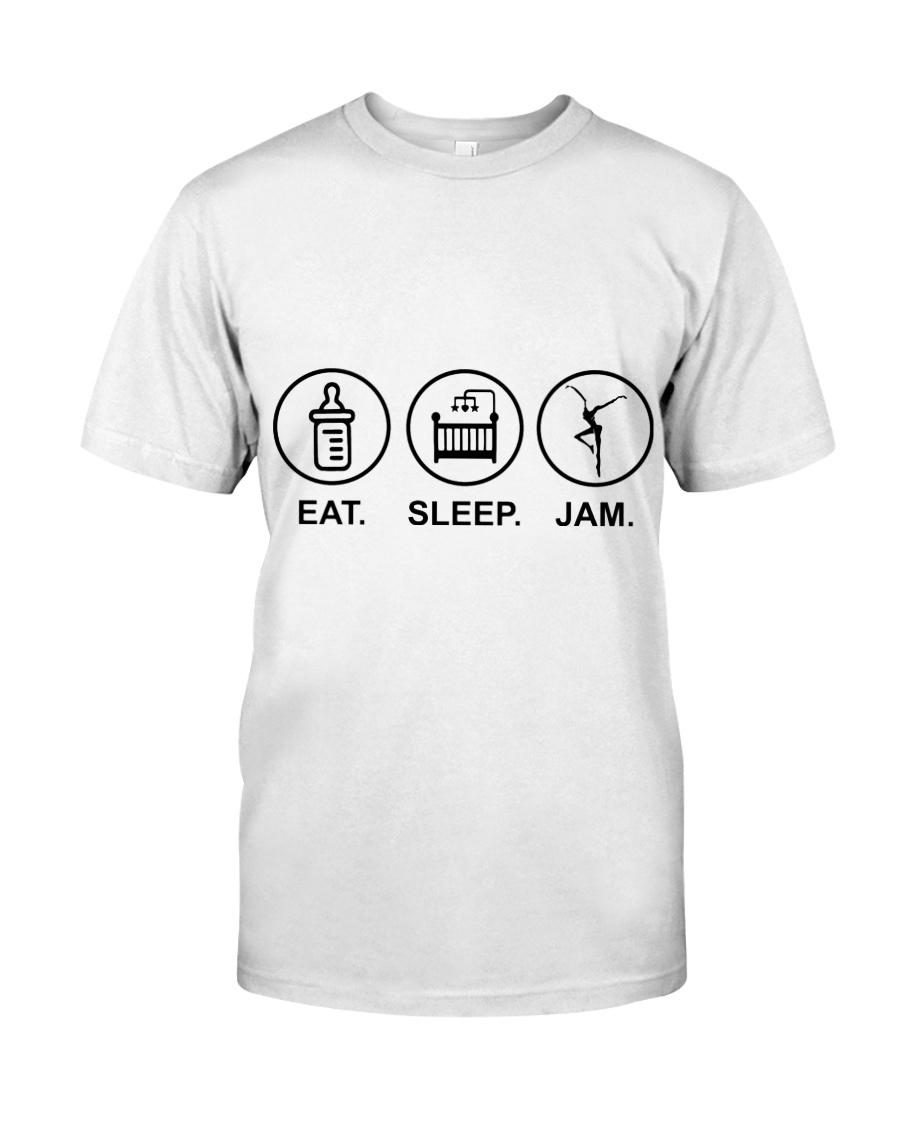 Eat sleep jam Classic T-Shirt