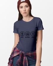 Eat sleep jam Ladies T-Shirt thumbnail