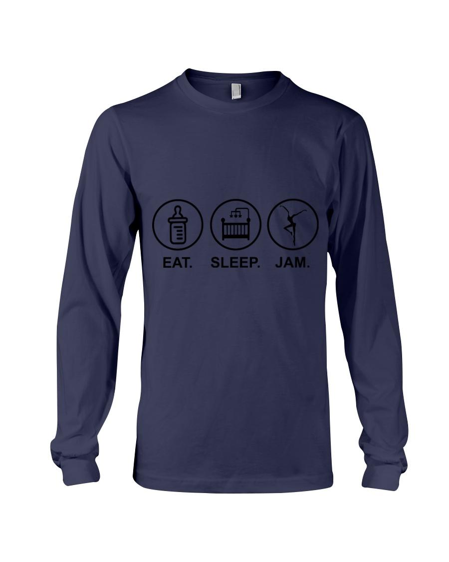 Eat sleep jam Long Sleeve Tee showcase