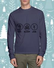 Eat sleep jam Long Sleeve Tee thumbnail