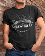 THE BREWERIES Classic T-Shirt apparel-classic-tshirt-lifestyle-26