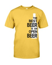 The best beer is an open beer Classic T-Shirt tile