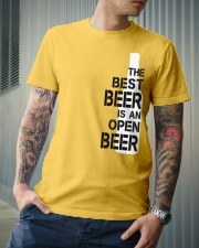 The best beer is an open beer Classic T-Shirt lifestyle-mens-crewneck-front-6