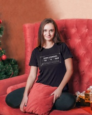 BOOBS LEGENDARY Ladies T-Shirt lifestyle-holiday-womenscrewneck-front-2