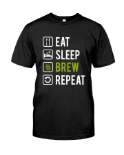 Eat sleep brew repeat Classic T-Shirt tile