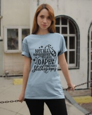 Not all Super Heroes have Capes Classic T-Shirt apparel-classic-tshirt-lifestyle-19