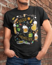 Beer is Chemistry  Classic T-Shirt apparel-classic-tshirt-lifestyle-26