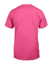 I Run on Toilet Paper and Kisses - Momlife Classic T-Shirt back