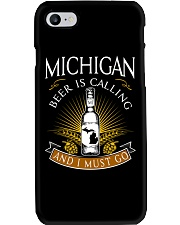 Michigan beer is calling and I must go Phone Case thumbnail