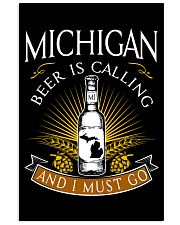 Michigan beer is calling and I must go 11x17 Poster thumbnail