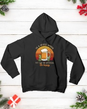 Be Hoppy Hooded Sweatshirt lifestyle-holiday-hoodie-front-3