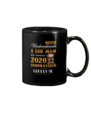 Never Underestimate A GSD MOM Mug thumbnail
