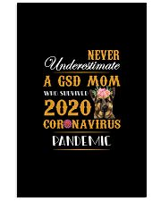 Never Underestimate A GSD MOM 11x17 Poster thumbnail
