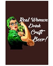 REAL WOMEN DRINK CRAFT BEER 11x17 Poster thumbnail