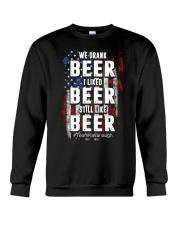 I LIKED BEER STILL LIKE BEER  Crewneck Sweatshirt thumbnail