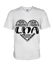 LNA Nurse V-Neck T-Shirt thumbnail