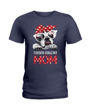 FRENCH BULLDOG MOM Ladies T-Shirt thumbnail