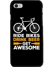 RIDE BIKES DRINK BEER GET AWESOME Phone Case thumbnail