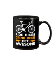 RIDE BIKES DRINK BEER GET AWESOME Mug thumbnail
