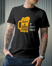 CRAFT BEER MY SPIRIT ANIMAL Classic T-Shirt lifestyle-mens-crewneck-front-6