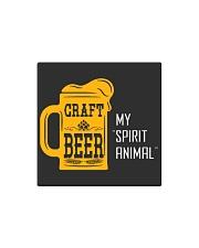 CRAFT BEER MY SPIRIT ANIMAL Square Magnet thumbnail