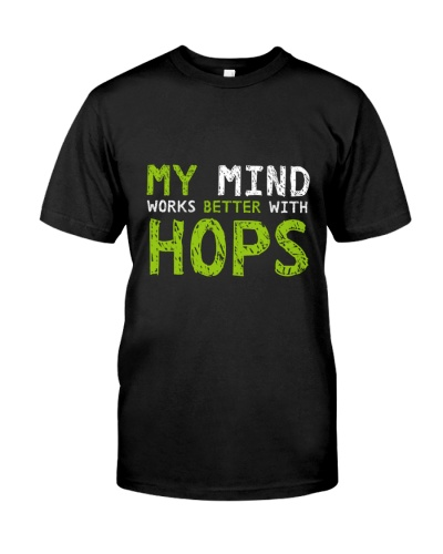 My mind work better with hops