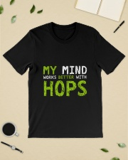 My mind work better with hops Classic T-Shirt lifestyle-mens-crewneck-front-19