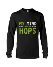 My mind work better with hops Long Sleeve Tee thumbnail