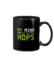 My mind work better with hops Mug thumbnail