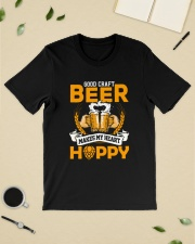 GOOD CRAFT BEER MAKES MY HEART HAPPY Classic T-Shirt lifestyle-mens-crewneck-front-19